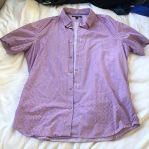 Banana Republic sz M short sleeved button up